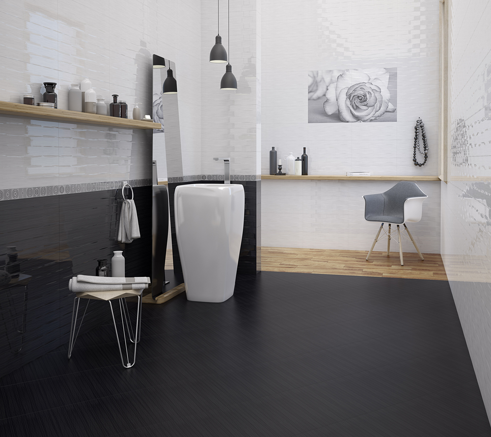 Sophisticated interior with ceramic and porcelain tiles kai group gallery doublecrazyfo Images