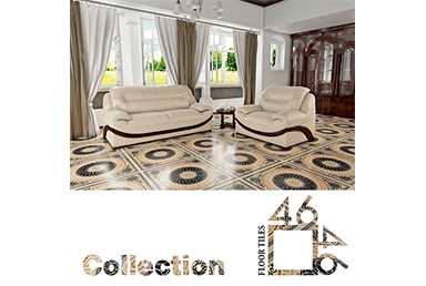Floor tiles collection 46x46