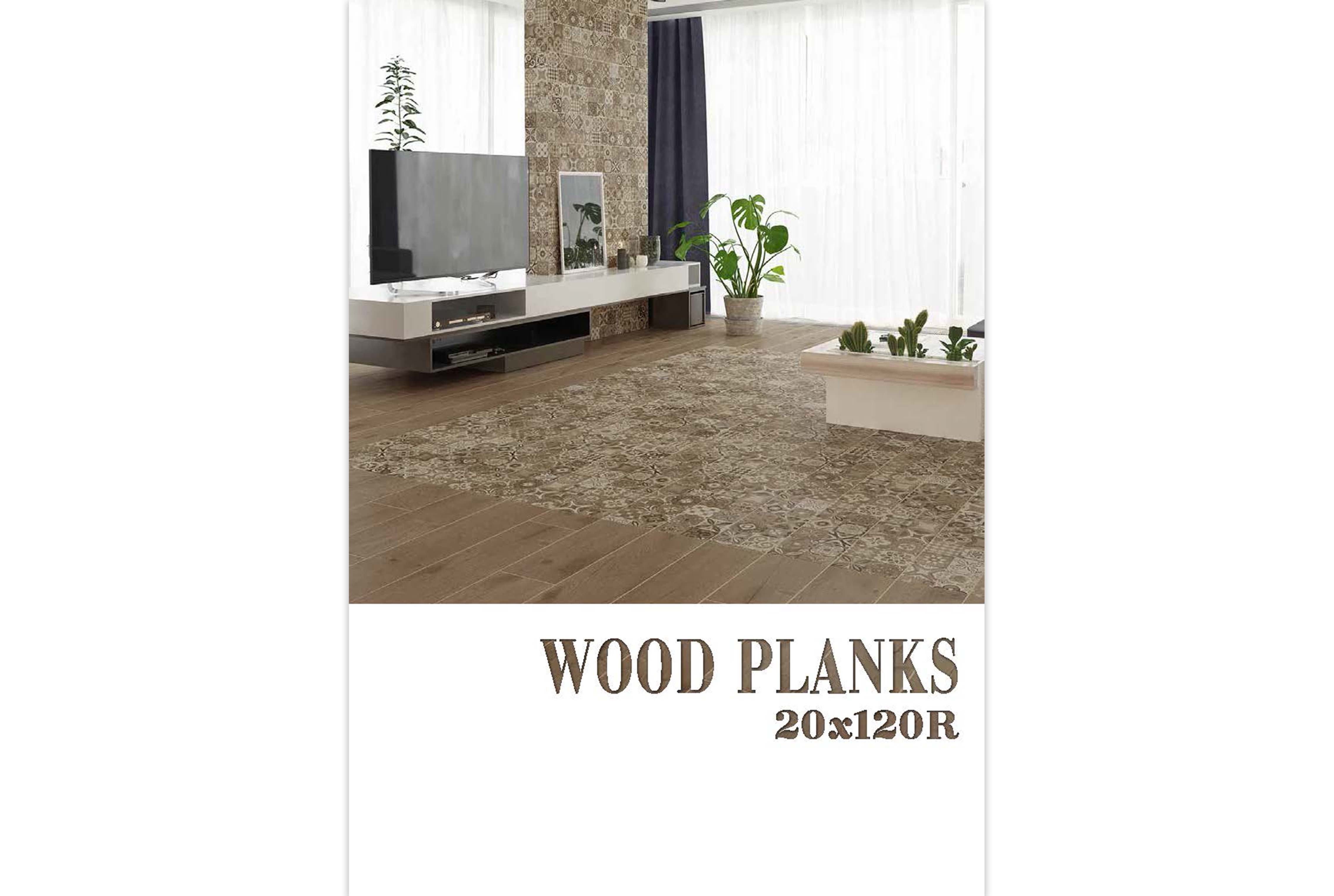 Wood planks collection 20х120 R